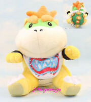 Hot Super Mario Bros. Plush - Baby Bowser Jr.Koopa Action Plush Toy Soft Doll