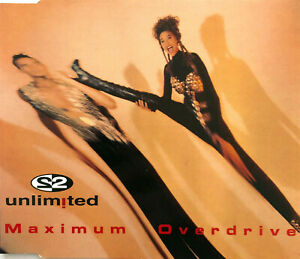 2-Unlimited-Maxi-CD-Maximum-Overdrive-Germany-EX-EX