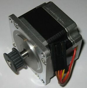 Bipolar Stepper Motor With Metal Cog Belt Gear 200 Steps