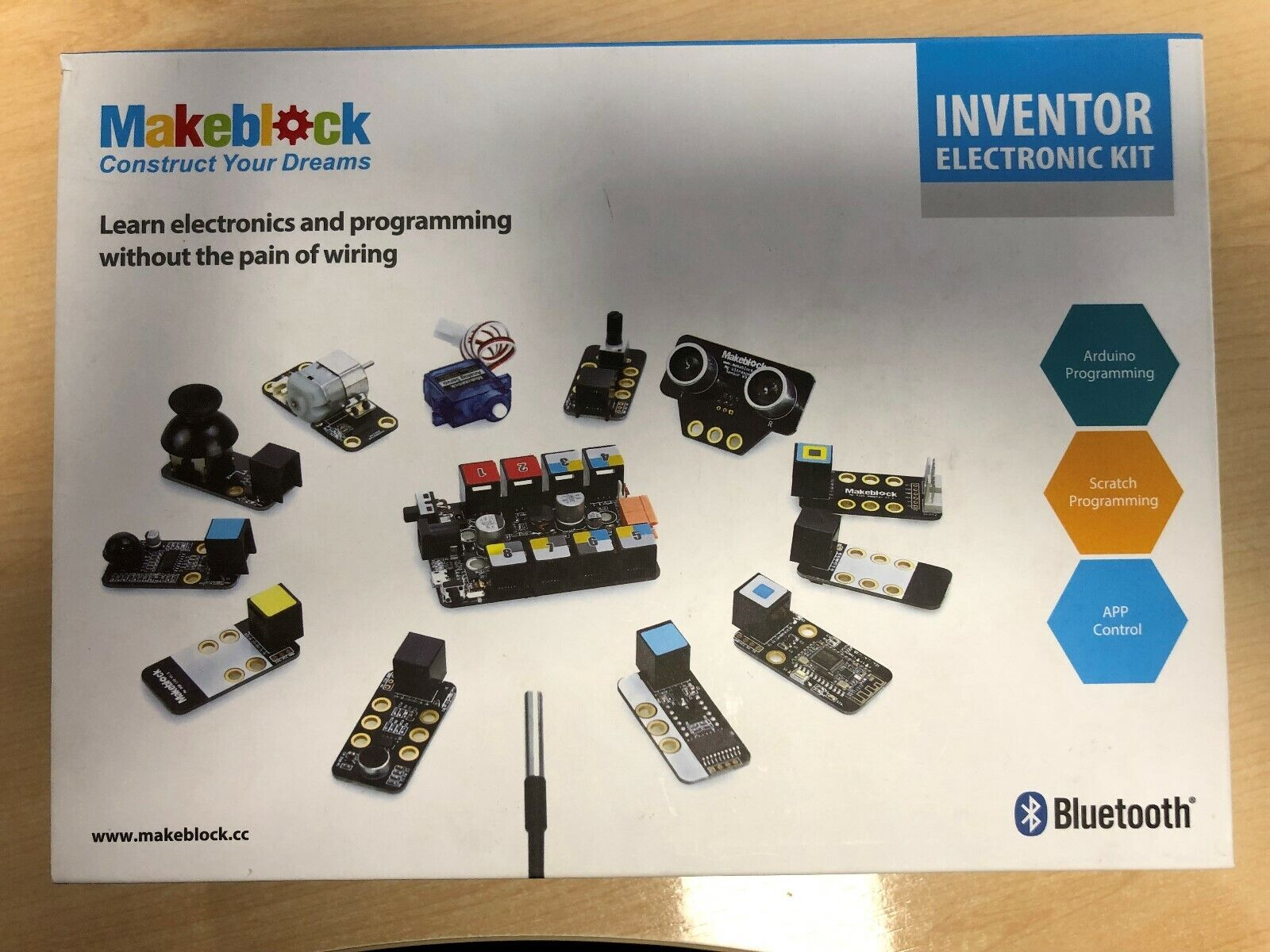 Kit robótica educativo Inventor Electronic KIT. Precintado