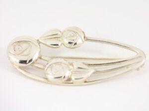 Fine Pins & Brooches Fine Jewelry Dashing Rennie Macktintosh Brooch Ladies Stunning 925 10.5g Ct72 Fancy Colours