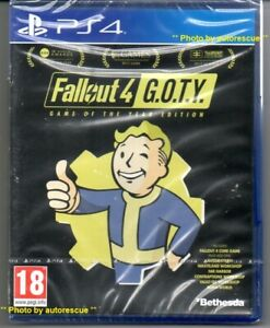 Fallout-4-GAME-of-the-YEAR-Edition-039-New-amp-Sealed-039-PS4-Four