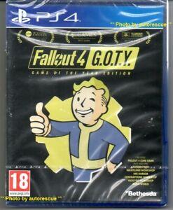 Fallout-4-GIOCO-DELL-039-ANNO-EDIZIONE-034-NUOVO-amp-Sealed-039-PS4-quattro