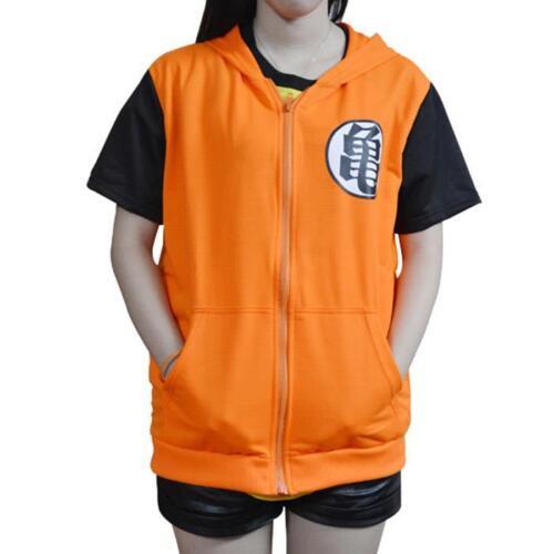 Anime Dragonball Z Son Goku Clothing Hooded Sweatshirt Costume Cosplay Hoodie