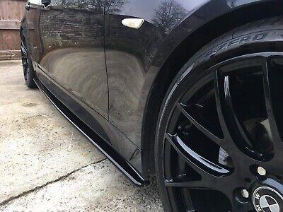 made From Black Gloss Abs Plastic BMW E60//E61 M-SPORT SIDE SKIRT SPLITTERS