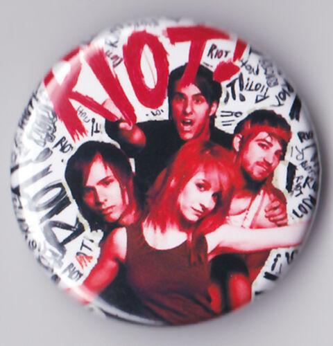 RIOT Badges /& Magnets Punk Alternative Rock NEW RARE Pin Button PARAMORE