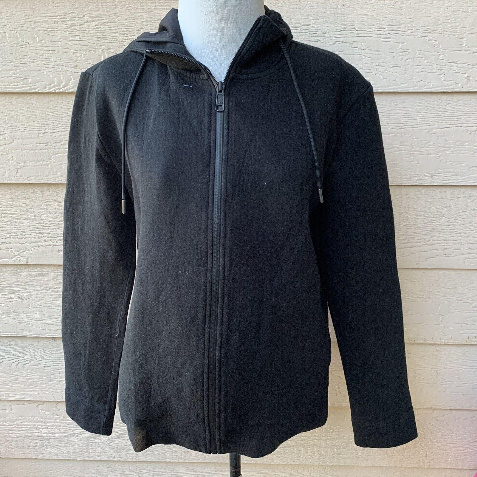 Everlane The Street Fleece Zip Hoodie Redshift Men Long Sleeve Casual Jacket M
