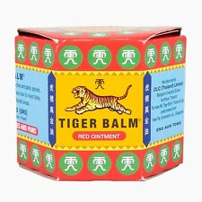 Tiger Balm Red Authentic Ointment Relief of Muscular Aches Pain Sprains 19.4g