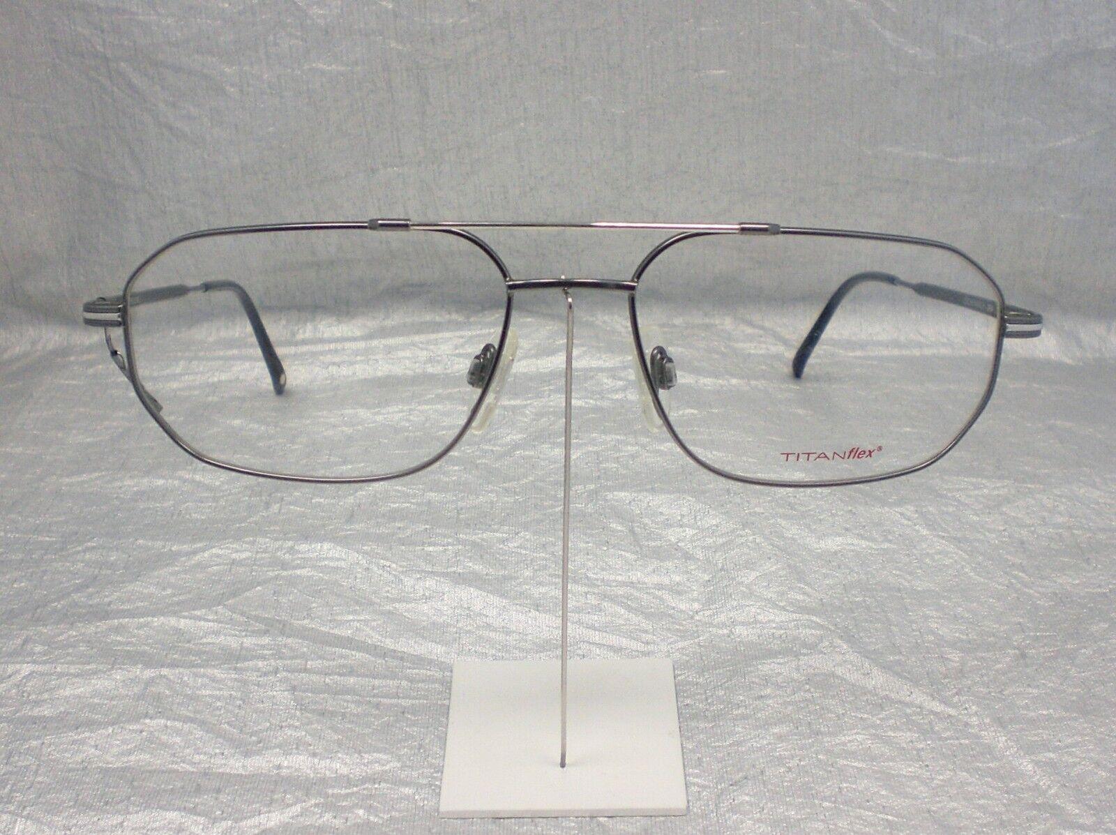 Original Eschenbach Brille Brillenfassung 3689 Farbe 30 grau silber ...