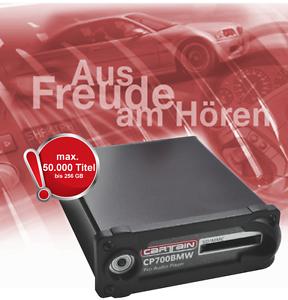 Cartain-MP3-Player-CP700BMW-fuer-BMW-E60-E61-E63-E64-E87-E90-E91-E70-usw-B-WARE