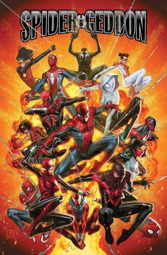 Spider-Geddon #1-4Main Cover /& VariantDC Comics2018 NM