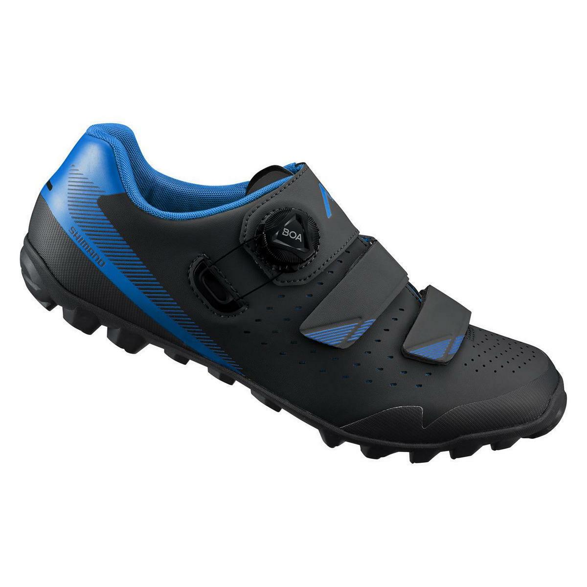 Scarpe mtb me400 shme400sl1 blu 2019 SHIMANO scarpe bici