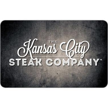 $100 Kansas City Steaks Physical Gift Card