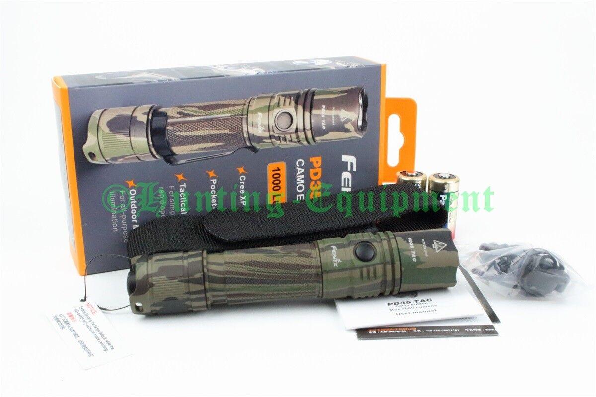 Fenix PD35 TAC CAMO Tactical Edition 1000 Lumen CR123 Cree XP-L V5 NEU