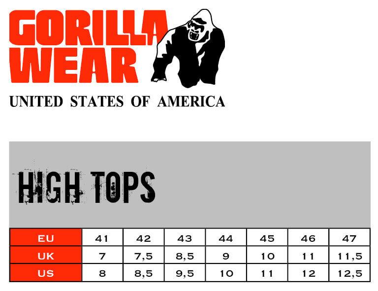 Gorilla Wear High High Wear Camisetas Rojo 9be55c