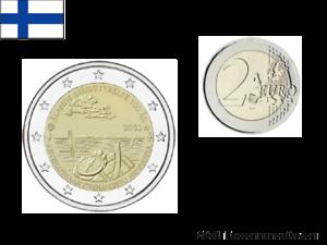 2 Euros Commémorative Finlande 2021 Aland UNC