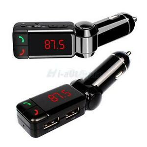 New-Dual-USB-Car-Kit-Charger-Wireless-Bluetooth-Stereo-MP3-Player-FM-Transmitter
