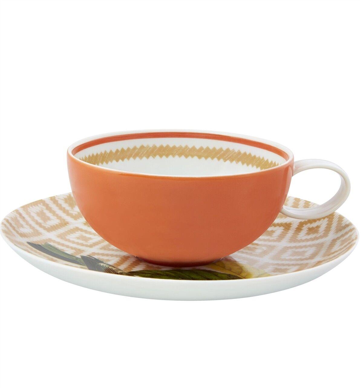 Vista Alegre Olhar O Brasil tasse thé et soucoupe-Lot de 8