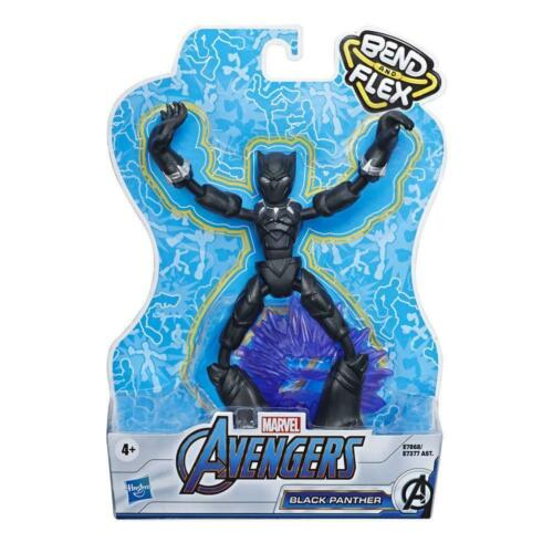 Marvel Avengers Bend and Flex 6-Inch Flexible Black Panther Action Figure
