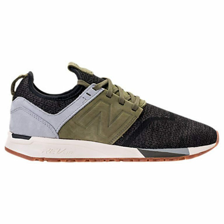 NEW BALANCE 247 BLACK / OLIVE CASUAL SHOES MEN'S SELECT YOUR SIZE