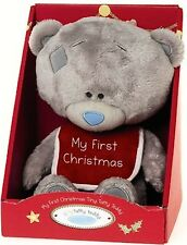 """#R123 ♥ NEW Me To You 9"""" Tiny Tatty Bear with 'My 1st Christmas' ♥"""