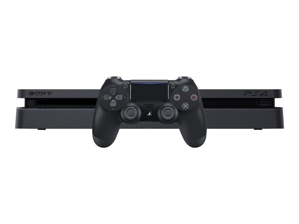 Sony PlayStation 4 - Slim - 500GB Sort