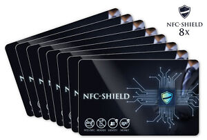 8x-NFC-Shield-Card-RFID-amp-NFC-Schutz-Blocker-Karte-fuer-EC-amp-Kreditkarten
