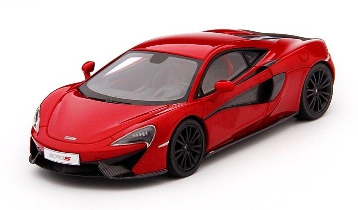 McLaren 570s Vermillion rouge 1 43 Model TRUE SCALE MINIATURES