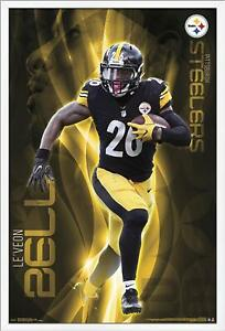 Le-039-Veon-Bell-Pittsburgh-Steelers-Poster-22x34-NFL-Futbol-16025