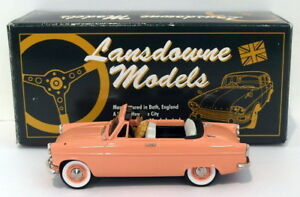 Lansdowne-Modelos-Escala-1-43-LDM23X-1962-Ford-Consul-Mk2-Convertible-1-de-130