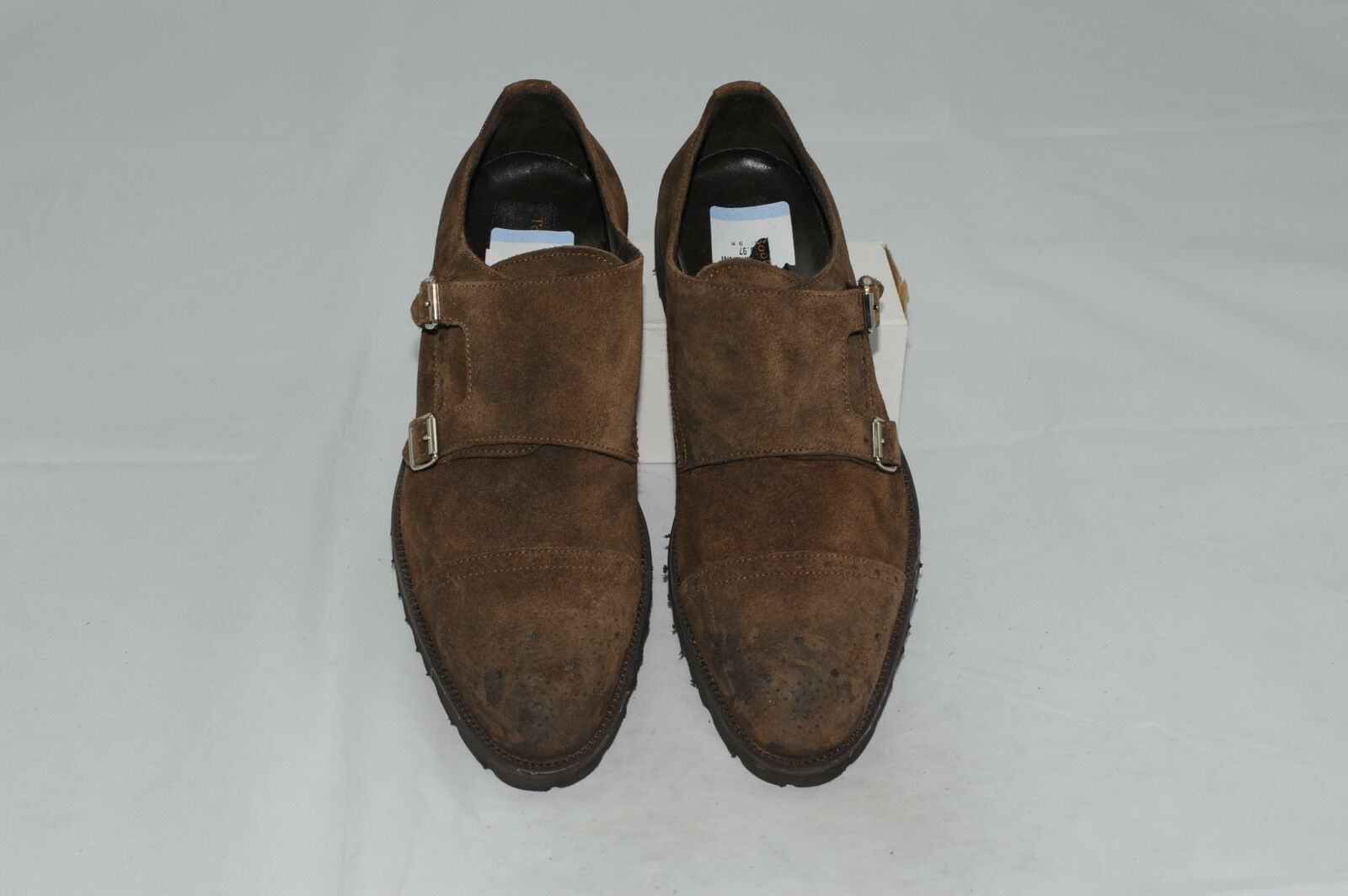 NWOT To Boot New York Double Monk Strap Dress shoes Size 9 M Made in