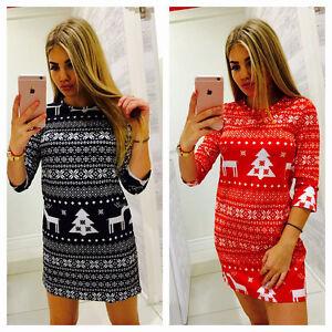 AU-Women-Christmas-Santa-Claus-Dress-Sleeveless-Ladies-Slim-Cocktail-Long-Dress