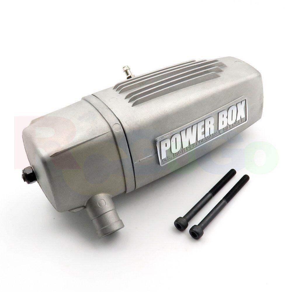 SILENCER E-5020 120AX OS29122500 O.S. Engines Genuine Parts