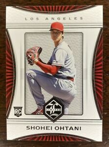 SHOHEI OHTANI ROOKIE CARD 2018 Panini Limited Los Angeles ANGELS MLB Baseball RC