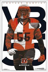 Vontaze-Burfict-Cincinnati-Bengals-Poster-22x34-NFL-Futbol-15836