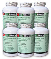 6 Btls. Ezorb Calcium Powder Low Price Save $26.60 An Elixir Industry Product