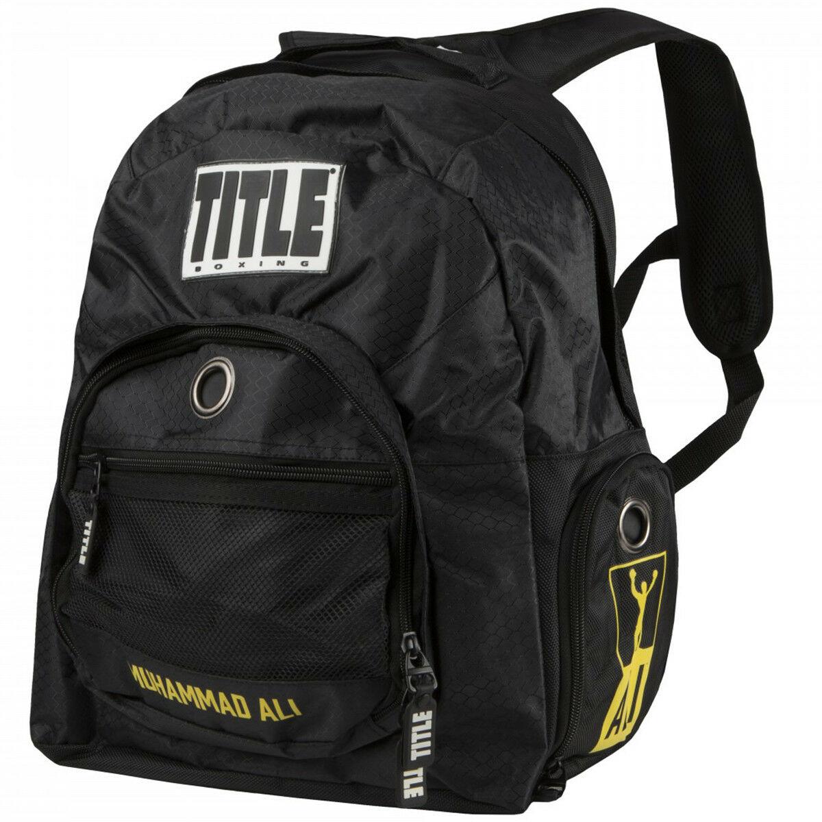 Title Boxing Muhammad Ali Super Equipment Backpack
