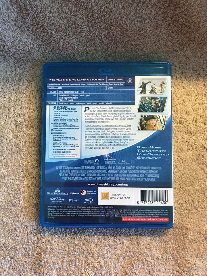 Pirates of The Caribbean Død mands kiste , instruktør Walt