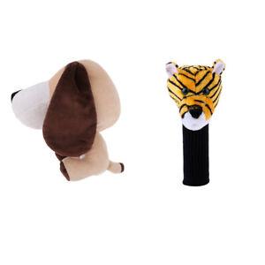 2x-Novelty-Animal-Golf-Club-Wood-Head-Cover-Headcover-Sport-Golfer-Xmas-Gift