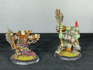Privateer-Press-Hordes-Trollbloods-Trollkin-Madrak-Ironhide-and-Axer-Painted