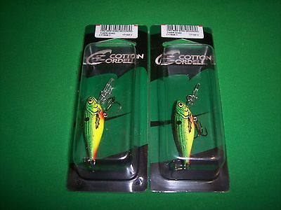 CRD Wee Shad Wounded Shad Bass Fishing Micro Crankbait Cordell
