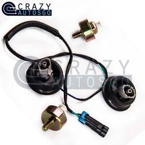 Dual Knock Sensor W/ Wire Harness 12601822 12589867 LS1 LQ4
