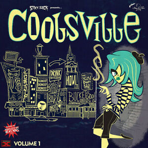 VARIOUS-ARTISTS-COOLSVILLE-VOLUME-1-10-INCH-VINYL-STRICTLY-FOR-BONGO-BEATNIKS