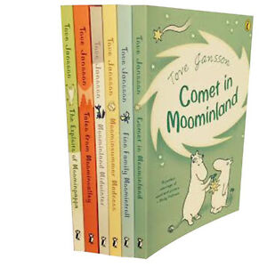 Moomins-Collection-Tove-Jansson-6-Books-Set-Comet-in-Moominland-Midwinter-New