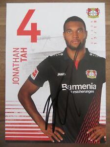 Handsignierte-Autogrammkarte-JONATHAN-TAH-Bayer-04-Leverkusen-17-18-2017-2018