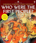 Who Were the First People by Phil Roxbee Cox (Paperback, 2002)