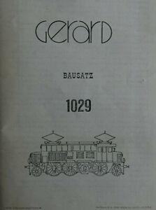 Gerard-Bausatz-BBO-1029-DRB-E-33-OBB-1073