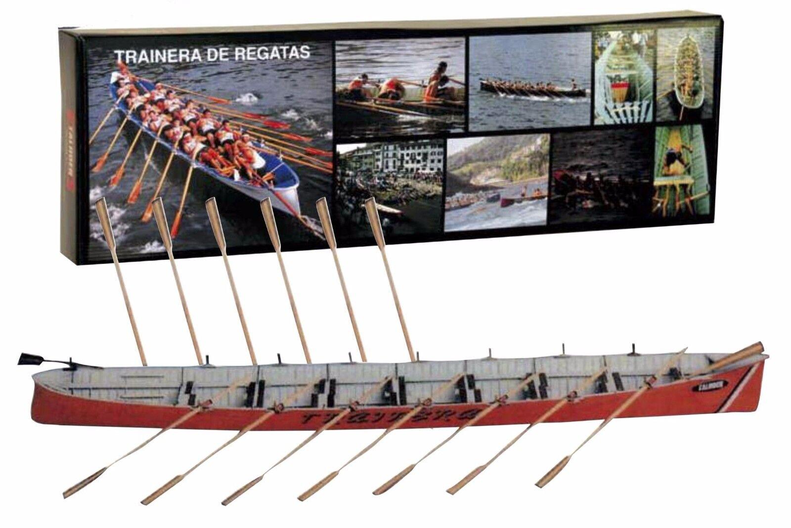 Unique, New Wooden Model Ship Kit by Disar  the  Trainera De Regatas