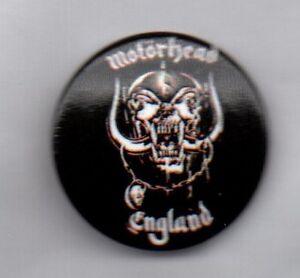MOTORHEAD-ENGLAND-BUTTON-BADGE-ENGLISH-CLASSIC-ROCK-METAL-BAND-25mm