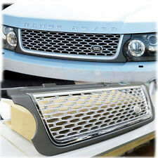 GRILLE AUTO B STYLE 2010 - 2013 RANGE ROVER VOGUE GREY SILVER